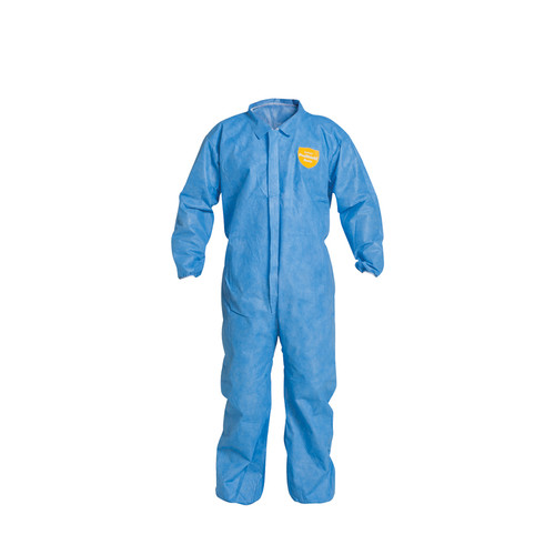 Dupont PB125SB Blue ProShield Non hazardous Coveralls (25/Case)