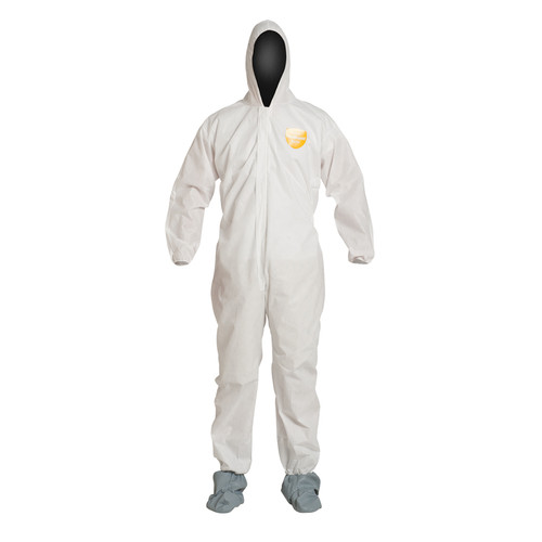 Dupont PB122SW Basic Coverall Hood and Shoe Covers (25/Case)