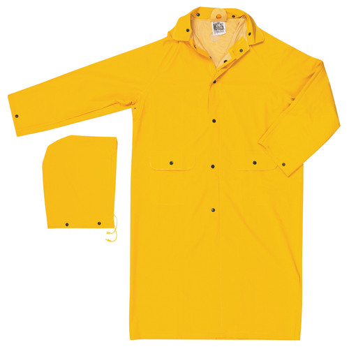 River City 200C 2-Piece Classic Yellow Rain Coat
