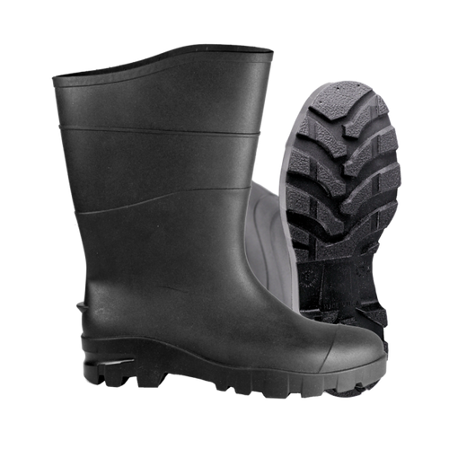 "HF 44230 Black Unisex Value Boots (8""-13"")"