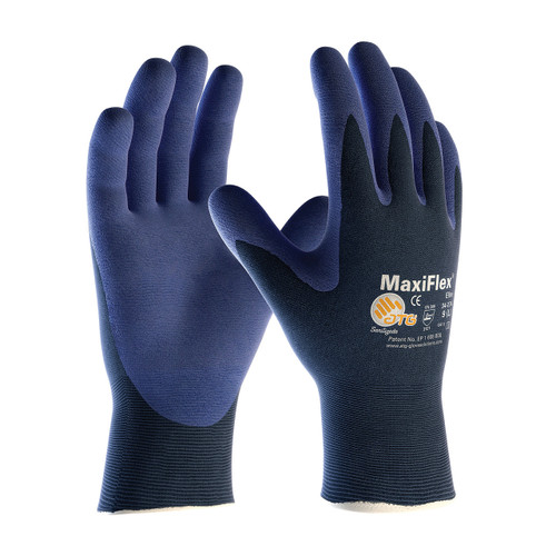 MaxiFlex 34-274 Ultra Light Weight with Nitrile Micro-Foam Grip (Pair)