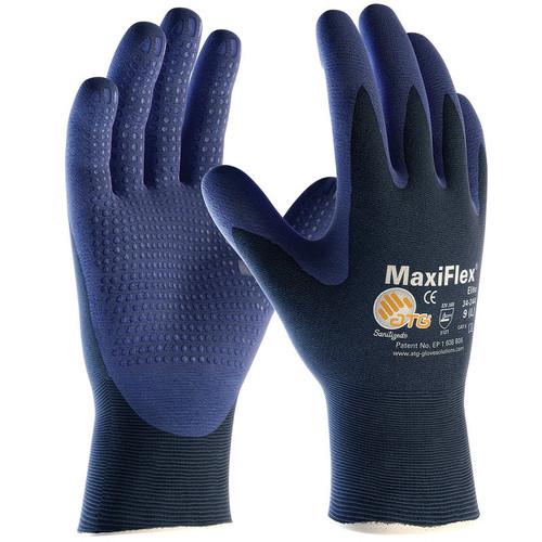 MaxiFlex 34-244 Light Weight Seamless Knit Nylon Gloves (Dozen)
