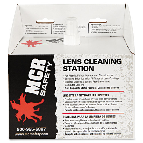 MCR LCS1 Safety Lens Cleaning Station