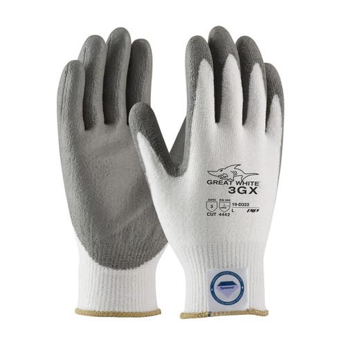PIP 19-D322 Great White Dyneema Diamond Blended Glove (Dozen)