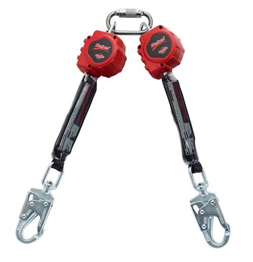 Protecta 3100413 Rebel Twin-Leg Self Retracting Lifeline - 6' Web