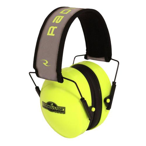Radians TR0HVG-BX Hi-Visibility Terminator™ 29 Earmuff  Green