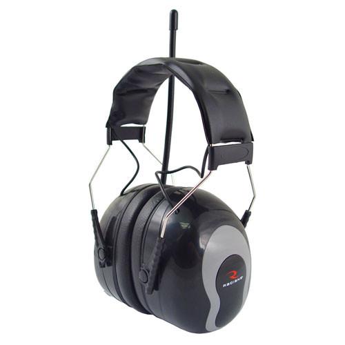 Radians AMFM31 Sound FX AM/FM Radio Earmuff Black