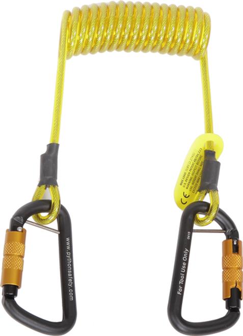 3M DBI Sala 1500063 Hook2Hook Coil Tether Tool Lanyard 5 lb.