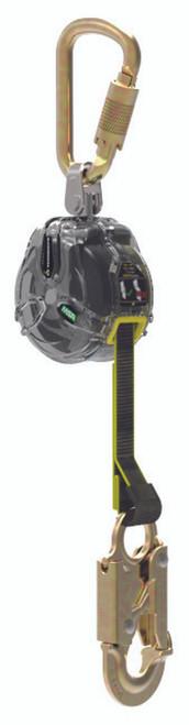 MSA 63011-00B SRL Web 6' with Snaphook and Steel Carabiner