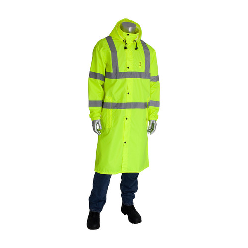 "PIP ANSI Type R Class 3 Value All Purpose 48"" Raincoat"