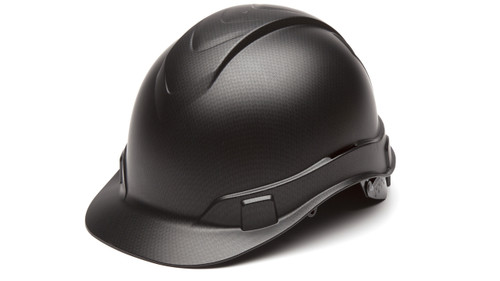 Pyramex HP44117 Ridgeline Cap Style Hard Hat Black Graphite