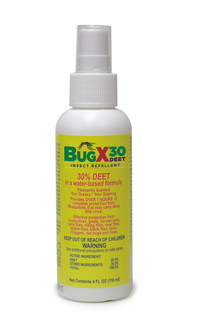 North 122024-H5 BugX Pump Spray, 4 oz. with 30% DEET