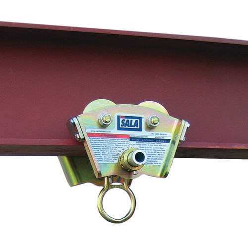 DBI SALA 2103143 Trolley for I-Beam Fits 3 in. to 8 in.