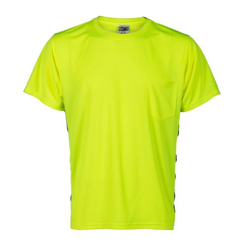 ML Kishigo 9200 Lime Premium Black Series High Viz T Shirt
