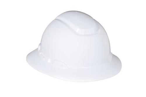 3M Full Brim Hard Hat 4 Point Ratchet with Uvicator