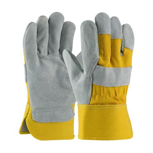 "PIP 81-7563YB Gloves ""A"" grade select shoulder split cowhide"
