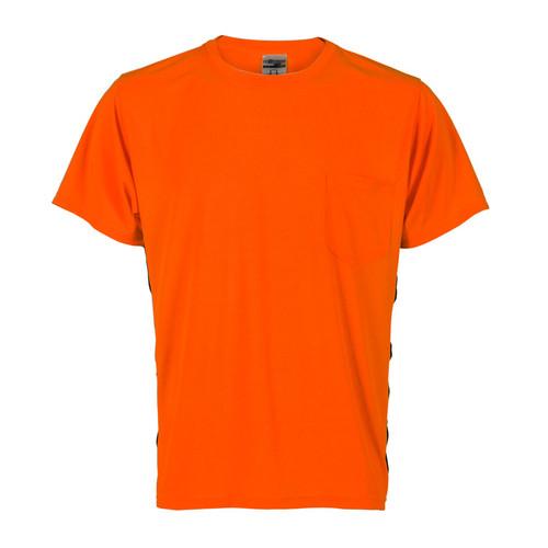 ML Kishigo 9201 Orange Premium Black Series High Viz T Shirt