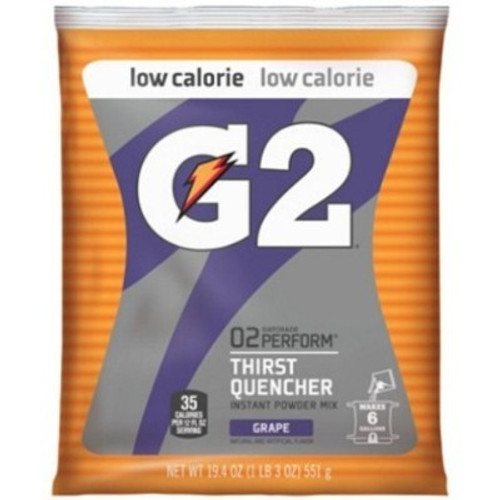 Gatorade 13439 G2 Powder Grape 51 oz (14/PK)