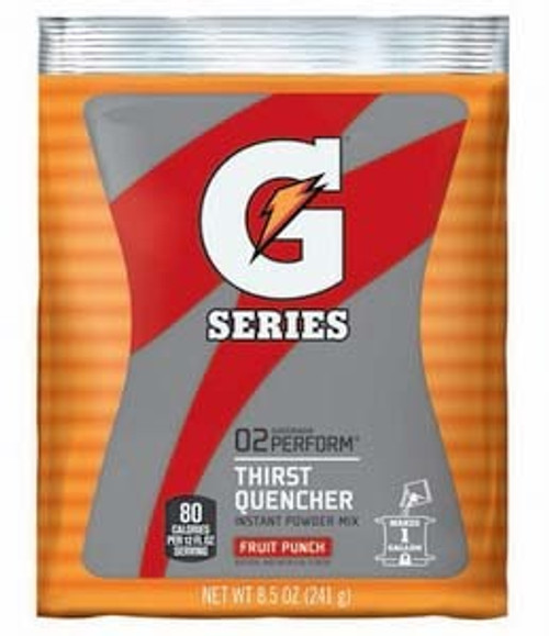 Gatorade 03808 Instant Powder Fruit Punch 8 1/2 oz (40/PK)