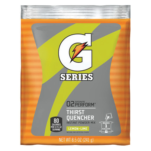Gatorade 03956 Instant Powder Lemon-Lime 8 1/2 oz (40/PK)
