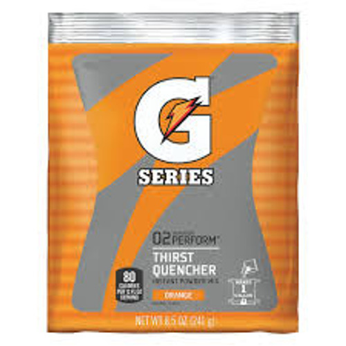 Gatorade 03957 Instant Powder Orange 8 1/2 oz (40/PK)