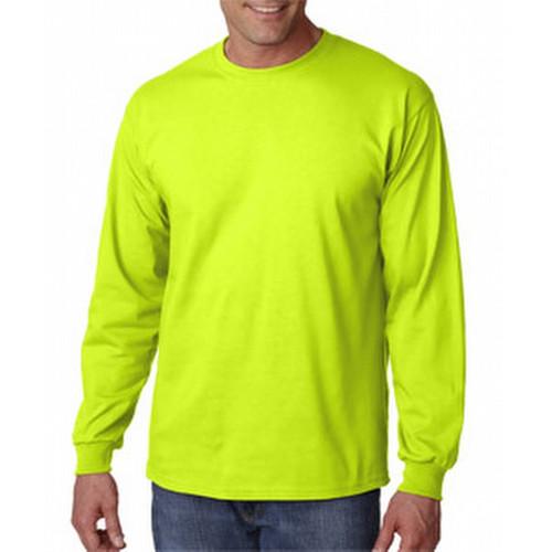 Gildan G2400L Lime Mens Classic Long Sleeve T-Shirt