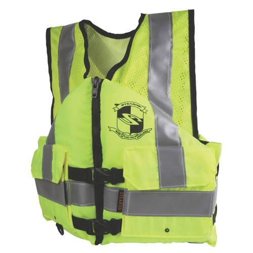 Stearns Yellow Work Zone Gear Life Vest