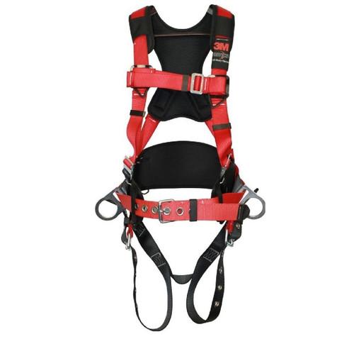 Protecta Construction Harness 3 D-Rings with Reinforced Belt