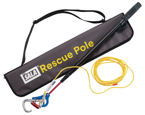 DBI Sala 8900299 Rescue Pole with 2.16 ft. to 8.66 ft. Telescoping Aluminum Pole