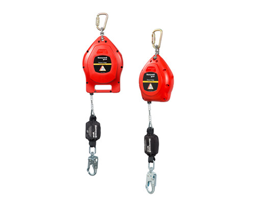 Miller Falcon 20Ft, 30Ft, 50Ft Edge Self-Retracting Lifelines Galvanized Steel Cable with Flame Retardant Cover Welding