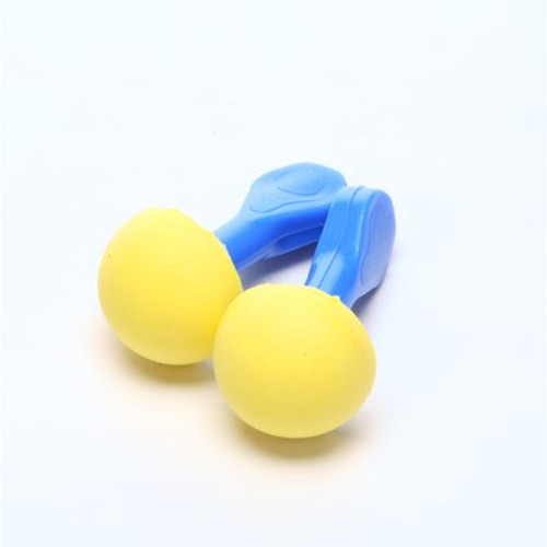 3M E-A-R EXPRESS Pod Plugs Earplugs 321-2100, Uncorded, Blue Grips, Pillow Pack, 100 Pair/Case
