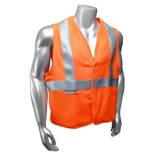 Radians SV92-2VOSFR Basic Modacrylic FR Class 2 Orange Vest