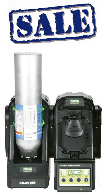 MSA Galaxy GX2 Altair 4X and 4XR Automated Gas Detector Complete Test System