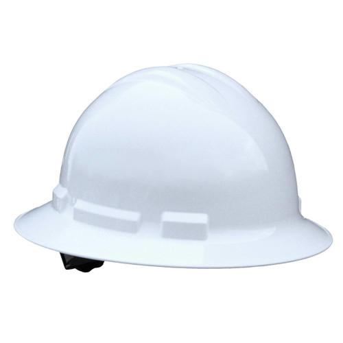 Radians QHR4 Quartz Hard Hat Full Brim 4 Point Ratchet Suspension