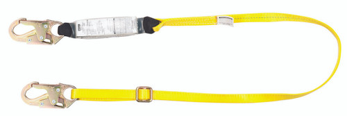 MSA 10113158 Workman Single Leg Energy Absorbing Lanyard 6'