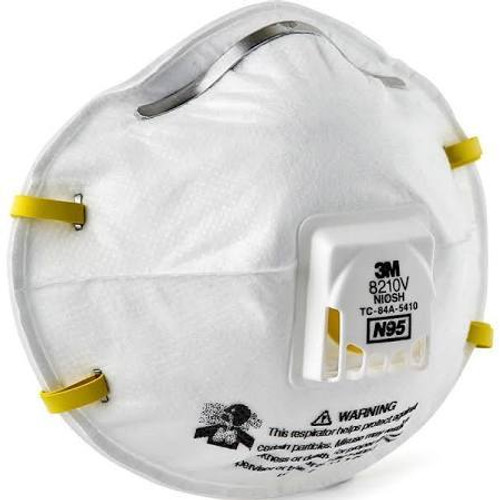 3M 8210V Particulate Respirator with Valve N95