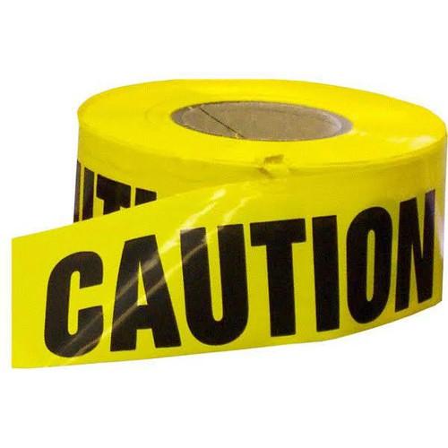 """Incom BT5058 Caution Value Grade Barricade Tape 3"""" x 1000'"""