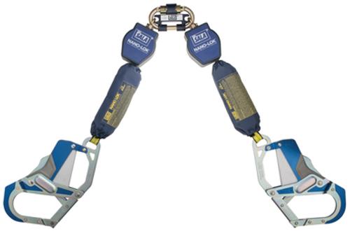 DBI Sala 3101663 Twin-Leg Quick Connect Self Retracting Lifeline 6'