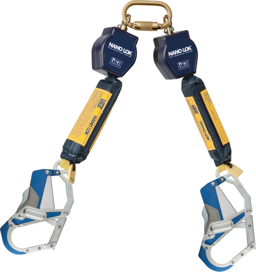 DBI Sala 3101664 Twin-Leg Quick Connect Self Retracting Lifeline 6'