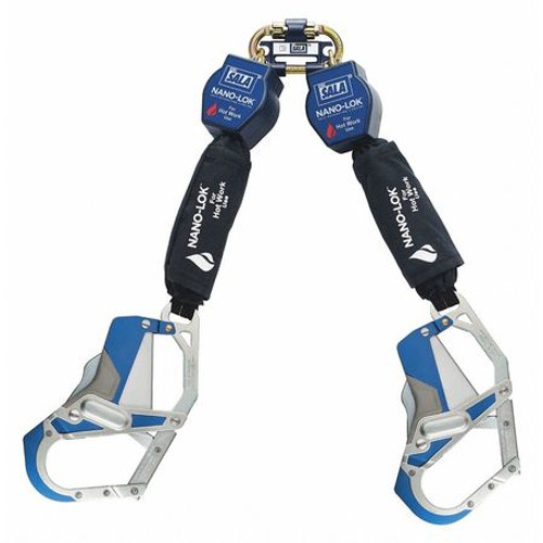 DBI Sala 3101667 Dual Self-Retracting Lifeline 9 ft. L