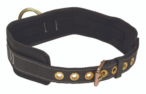 "FallTech 7090 Heavy Duty Postioning Belt with 1 D-Ring and 4"" Padding"