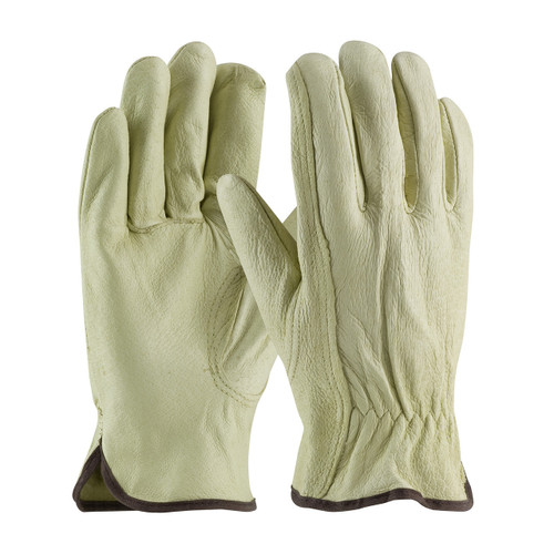 PIP 70-360 Grain Pigskin Leather Drivers Gloves Keystone Thumb (Pair)