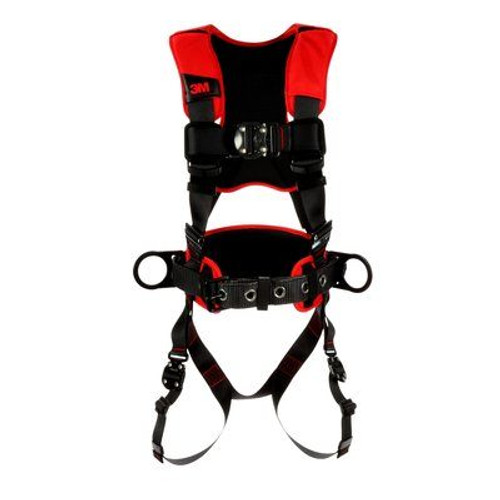 3M Protecta Full-Body Comfort Construction Style Positioning Harness Quick Connect