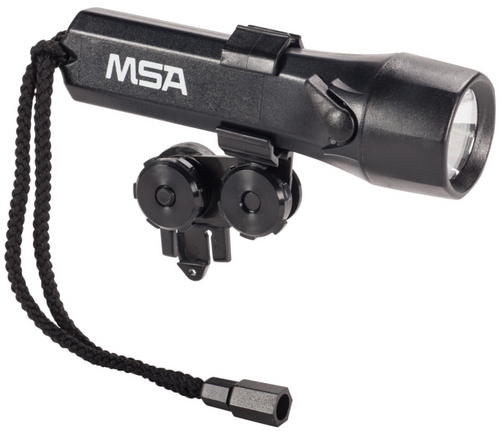 MSA 697261 Black Stealthlite Helmet Light