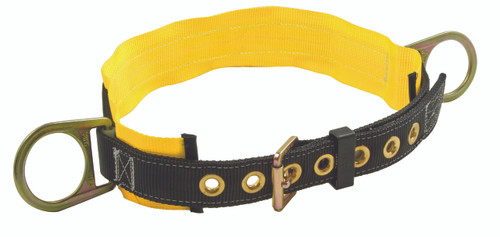 "FallTech 7060 Body Belt with Two Side D-Rings and 3"" Padding"