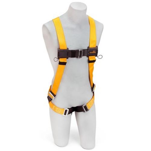 Miller T4000/UAKU Titan Full Body Harness with Sliding Back D-Ring