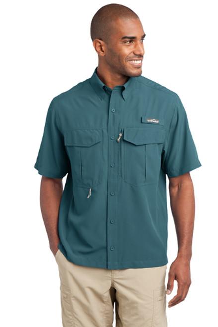 Eddie Bauer EB602 Short Sleeve Performance Fishing Shirt