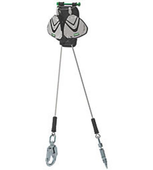 MSA Leading Edge Personal Fall Limiter 2.4m V-EDGE (Twin) Swivel Snap Hook