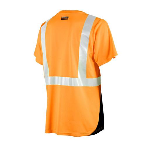 ML Kishigo Black Bottom  Class 2 Lime or Orange T-Shirt