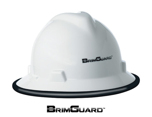 DripGuard ID Hard Hat Full Brim Protective Accessory